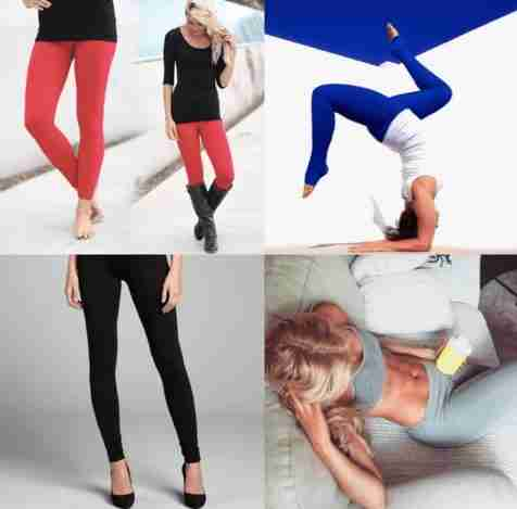 5 Basic Legging Styles Everyone Needs