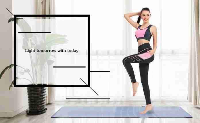 Sylonway High Waist Yoga Pants with Pockets for Women
