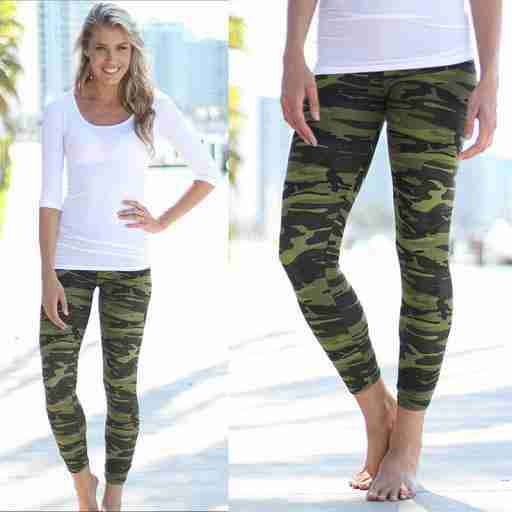 5 Ways to Rock Your Legging Army Print