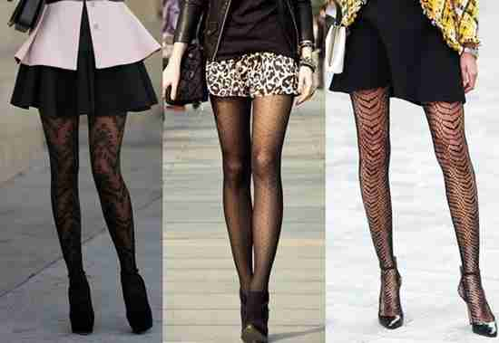 Shoes to be Combined with Fishnet Leggings