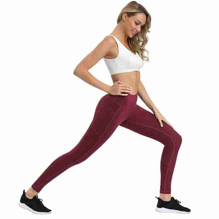 LifeSky Women Workout Leggings with Pockets