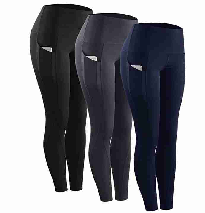 Neleus Running Workout Leggings with Pockets